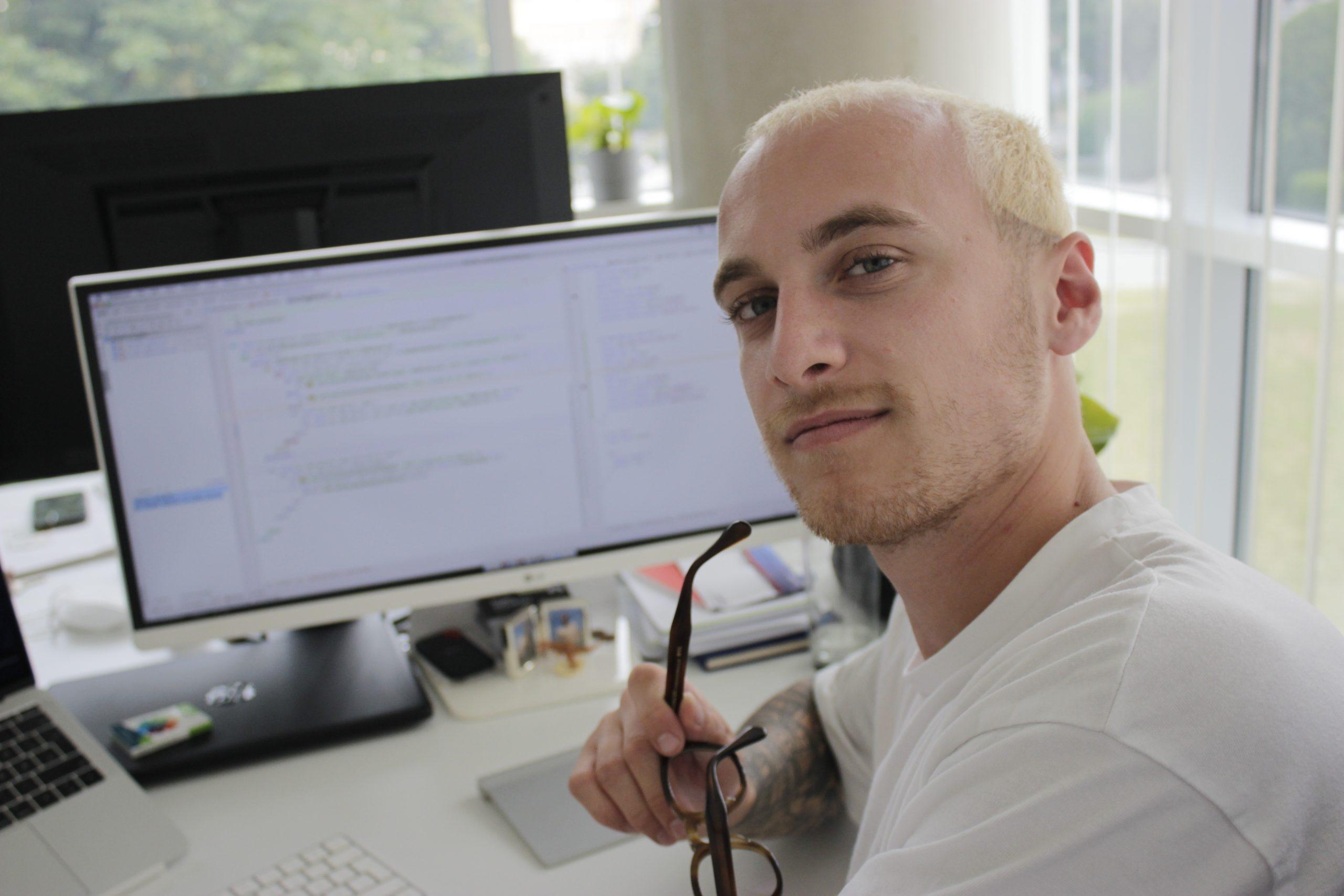 Ingo. Der Webdeveloper mit Vorliebe für Haarexperimente